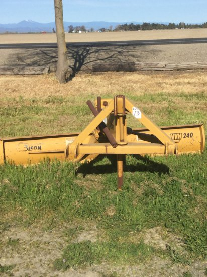 Bison NVH 240 3-Pt 8' Angle Blade