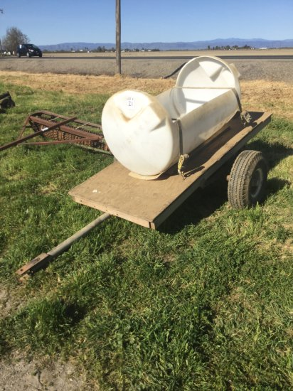 Single Axle 8' Farm Trailer