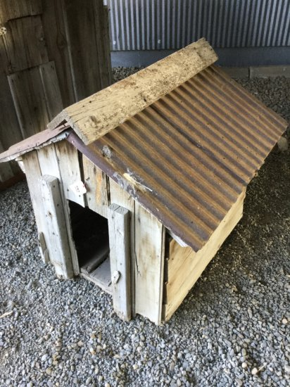 "Antique ""Ol Yeller"" Style Dog House"