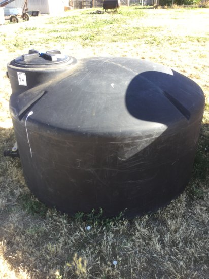 550 Gallon Poly Water tank (Black)