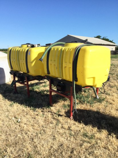 Demco 300 Gallon Poly Side Tanks