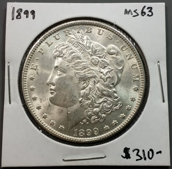 1899-p Morgan Silver Dollar (KEY DATE)