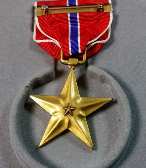 WWII US Bronze Star Medal