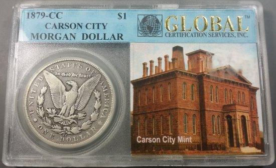 1879-CC Morgan Silver Dollar (Key-Date)