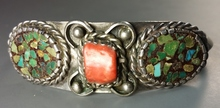 PRE-WAR Native American OLD PAWN Bracelet