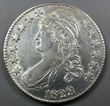 1823 Capped Bust Half-Dollar !!