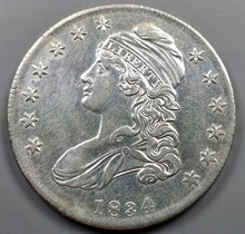 1834 Capped Bust Half-Dollar !!