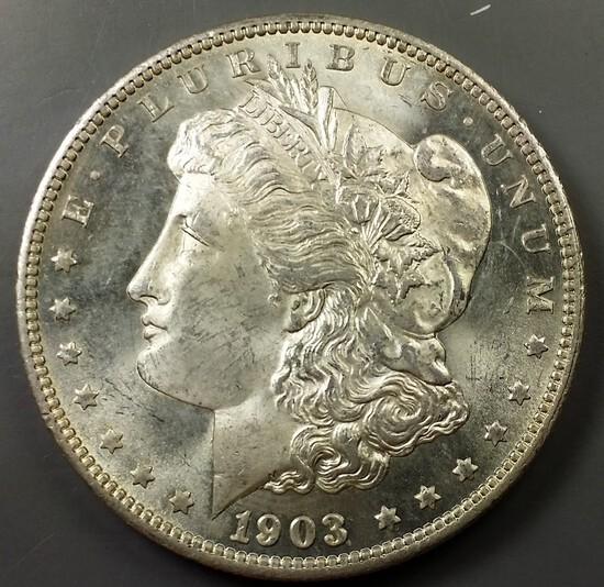 1903-O Morgan Silver Dollar -KEY DATE