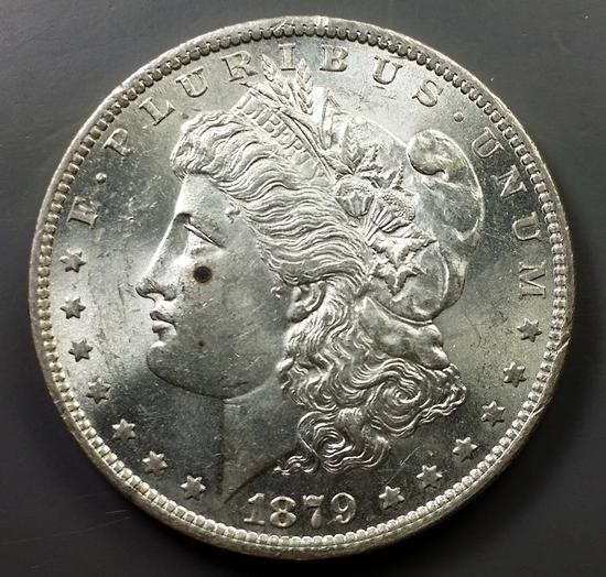1879-O Morgan Silver Dollar -Semi-Key