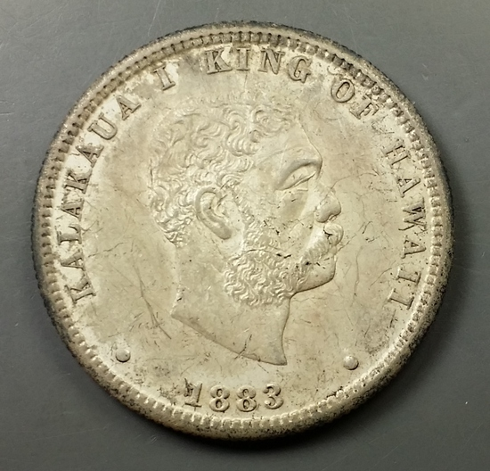 1883 Hawaii Quarter