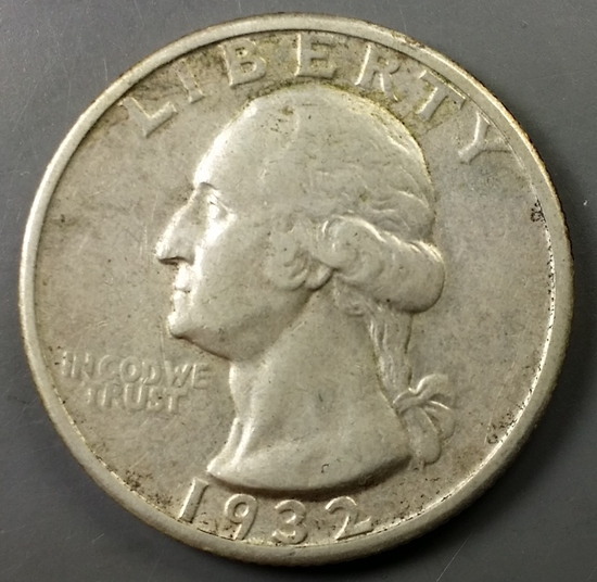 1932-S Washington Quarter -KEY DATE