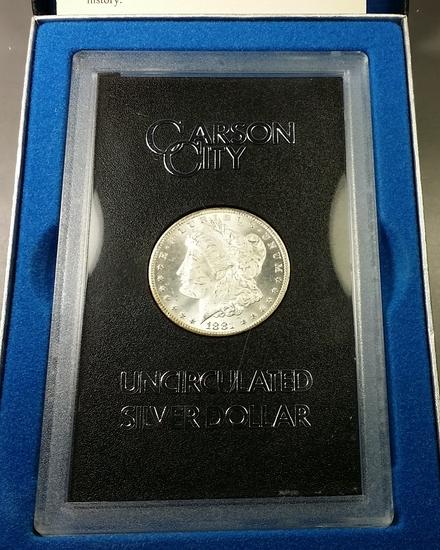 1881-CC Morgan Dollar GSA -BLAZER!!