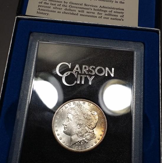 1883-CC Morgan Dollar (GSA) - TONED