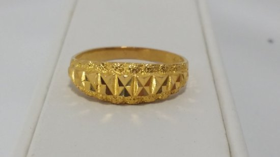 21k Solid GOLD Ring