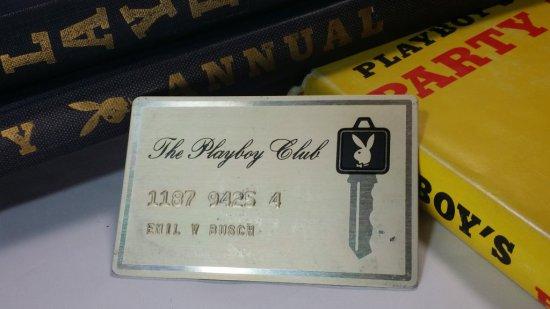 Vintage PLAYBOY CLUB KEY CARD!!!... OWNED BY WWII 8th AF PILOT