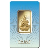 PAMP Suisse 1 Ounce Gold Bar - Lakshmi