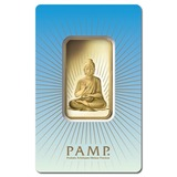PAMP Suisse 1 Ounce Gold Bar - Buddha