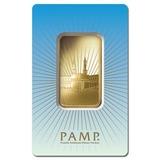 PAMP Suisse 1 Ounce Gold Bar - Ka?bah Mecca