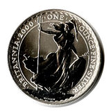 Uncirculated Silver Britannia 1 oz 2000