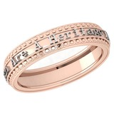 Gold MADE IN ITALY Heritage Styles Bands For beautiful ladies 14k White Gold MADE IN ITALY