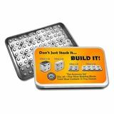 12 oz Silver - Building Block Bars - 40pc Accessory Set
