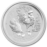 2017 Australia 10 oz Silver Lunar Rooster