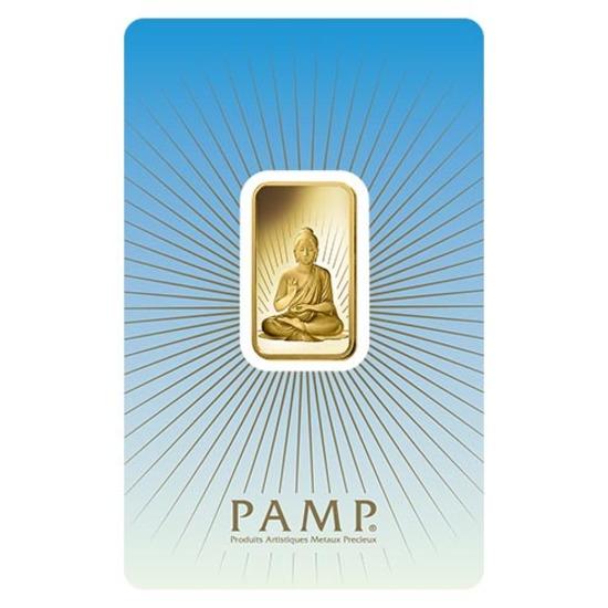 PAMP Suisse 10 Gram Gold Bar - Buddha