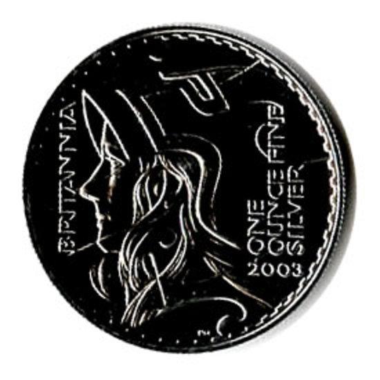Uncirculated Silver Britannia 1 oz 2003