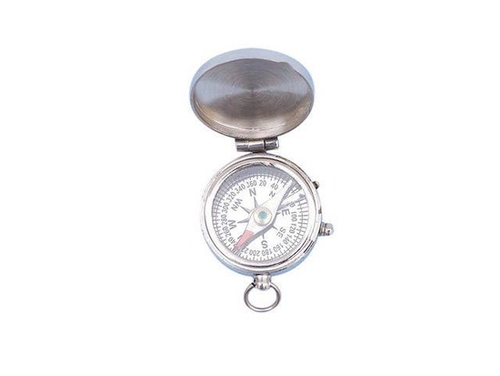 Chrome Magellan Compass 2in.