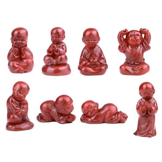 SMALL MONK SET OF 8