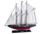 Wooden Atlantic Limited Model Sailboat 32in.
