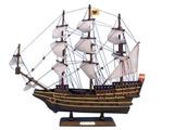Wooden San Felipe Tall Model Ship 14in.