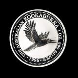 Australian Kookaburra 1 oz. Silver 1996