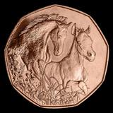2020 Austria Copper ?5 Horse