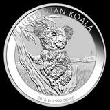 Australian Koala 1 oz Silver 2015