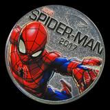 2017 Fiji 50 Cent Spiderman Light Up (Specimen)