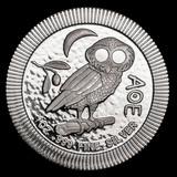 2020 Niue 1 oz Silver Athenian Owl Stackable Coin