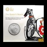 2021 Great Britain QB The White Greyhound BU (w/Display Card)