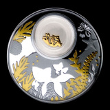 2020 Republic of Cameroon Silver Proof Lucky Goldfish Coin