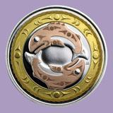 2010 Canada 1/4 oz Silver $3 Return of the Tyee (Gilded)