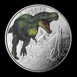 2020 Austria Cupro-Nickel ?3 Color Supersaurs (Tyrannosaurus Rex)