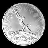 2020 Niue 1 oz Silver Collectible Disney Lion King The Circle of Life