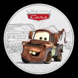 2017 Niue 1 oz Silver Pixar Cars Tow Mater