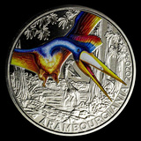 2020 Austria Cupro-Nickel ?3 Colorful Supersaurs (Arambourgiania)