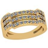 0.22 Ctw VS/SI1 Diamond 14K Yellow Gold Ring