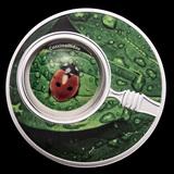 2020 Republic of Cameroon Silver Proof The Secret Garden Ladybug