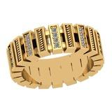 0.24 Ctw VS/SI1 Diamond 14K Yellow Gold Ring