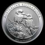 Australian Kookaburra 1 oz. Silver 2013 (Snake Privy)