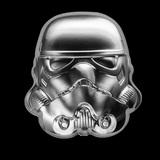 Collectible Star Wars Stormtrooper Helmet UHR 2020 Niue 2 oz Silver