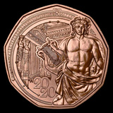 2020 Austria Copper ?5 New Year's 150th Anniversary Musikverein
